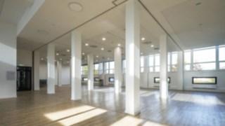 Innenansicht neues Gebäude bei Linde