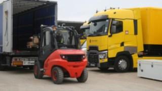 V-Stabler Linde MH, Renault Formel-1