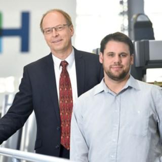 Matthias Ehmler und Stefan Heger