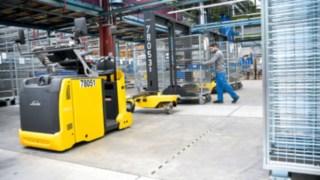 Einsatz von Linde Load Trains bei der Heidelberger Druckmaschinen AG