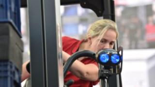 Staplercup 2017 Meisterschaft der Staplerfahrerinnen