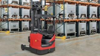 Schubmaststapler im Traglastbereich von 1,4 bis 2,5 Tonnen für die ATEX-Zonen 2/22