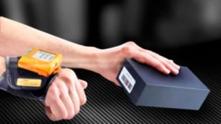 Tragbarer Barcodescanner